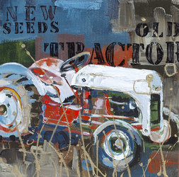 New Seeds Old Tractor